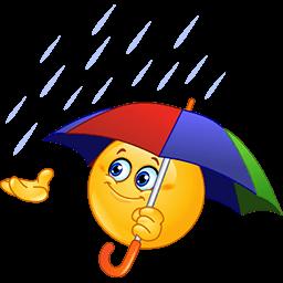 Rainy Day Emoticon