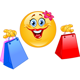 Shopping Day Emoticon