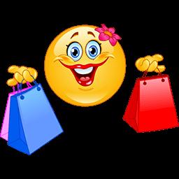 Shopping Day Emoticon