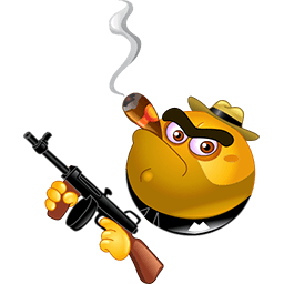 Al Capone Emoticon