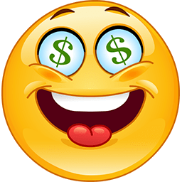 Show Me The Money Emoticon