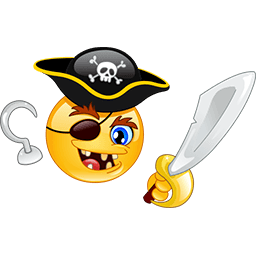 Scary Pirate Emoticon