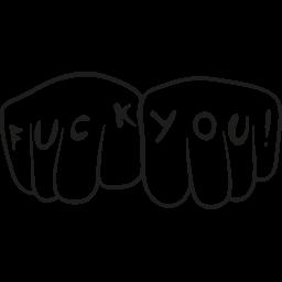 Eff You Emoticon